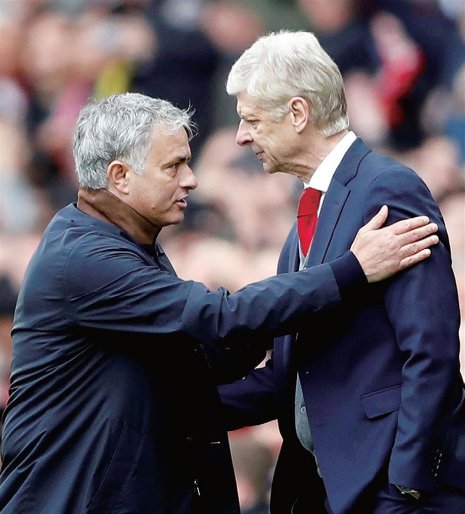 Mourinho hopes to face Wenger again