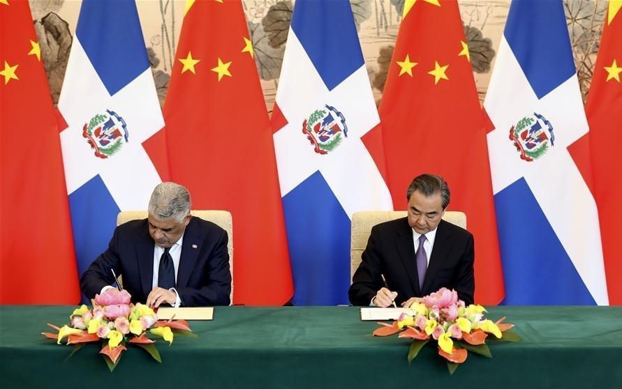 China, Dominican Republic establish diplomatic ties