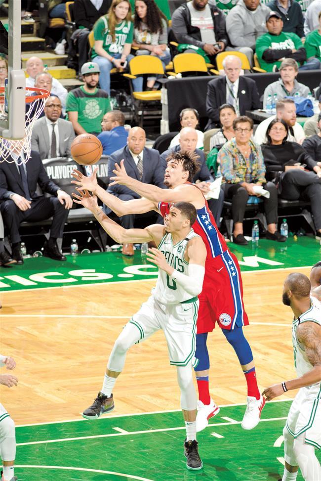 Short-handed Celtics rout Sixers