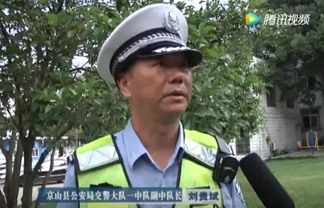 Policeman sacrifices life saving pedestrians from out-of-control car