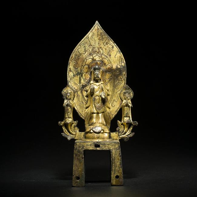 Gilt bronze Buddhist sculpture exhibition reveals how art advanced throughout Chinese dynasties