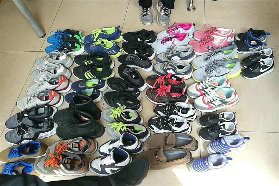 Mystery of the missing shoes solved, elderly couple nabbed
