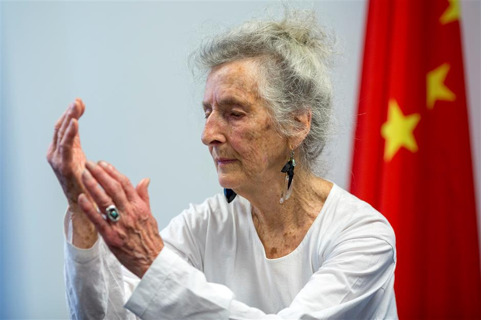 Tai chi brings 'balance' to US woman's life
