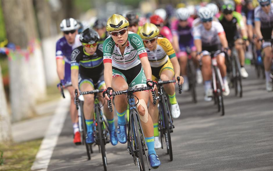 Island of dreams for top cyclists