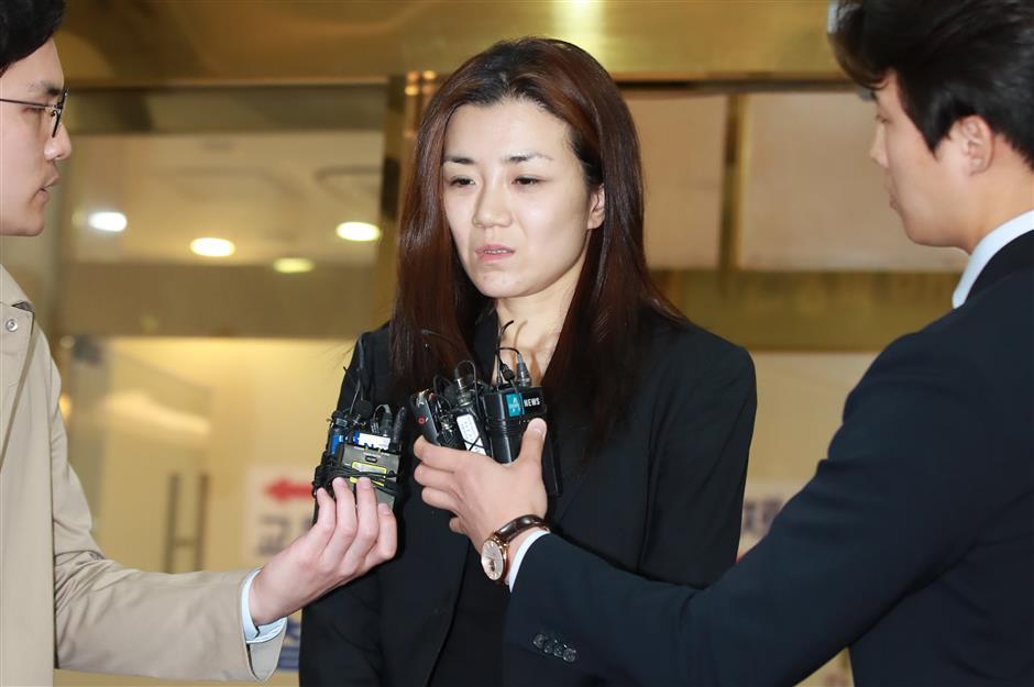 Police seek arrest of Korean Air nut rage sister on juice charges