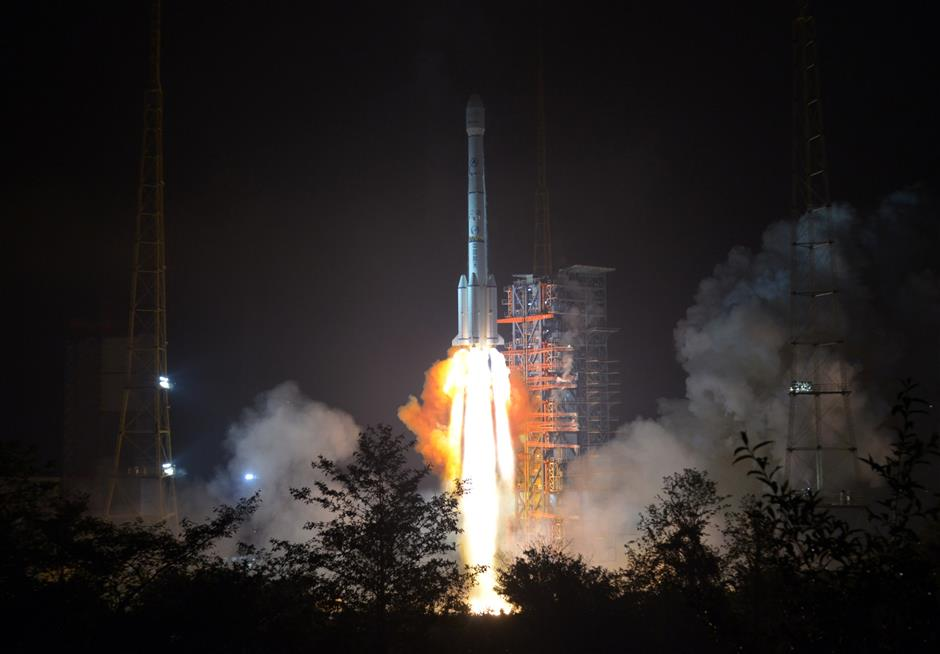 China launches new communication satellite for HK-based company