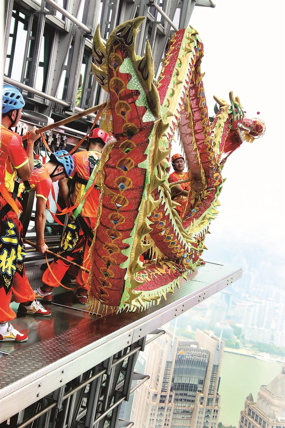 Dancing lions and dragons: the soul of China