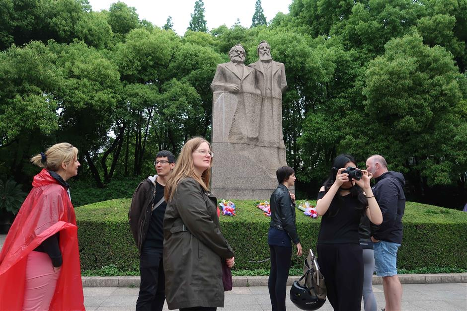 Film about Marx's early years being shown in China