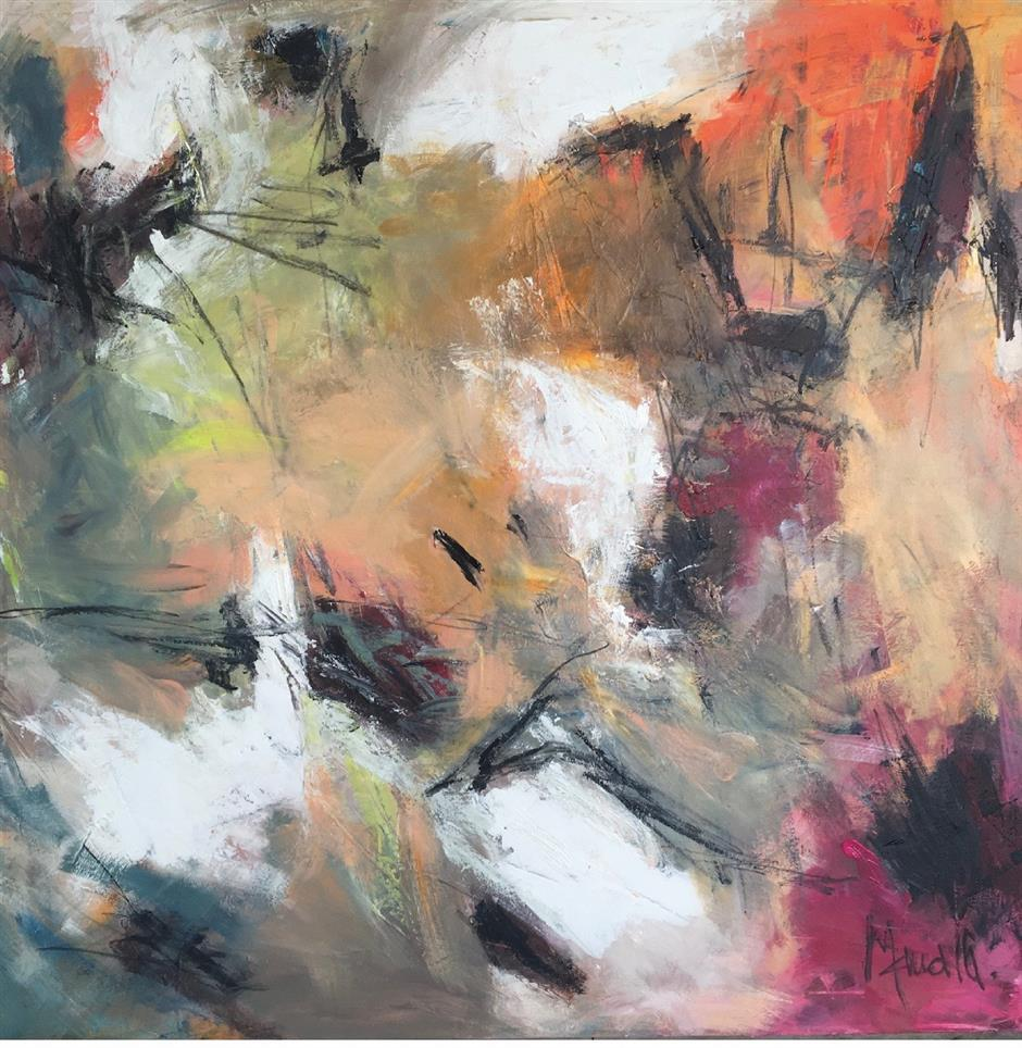 Autodidactic artist goes abstract in 'Live Your Dreams'