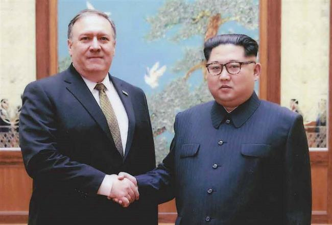 Pompeo's visit to DPRK to nail down framework for Trump-Kim meeting: US State Department