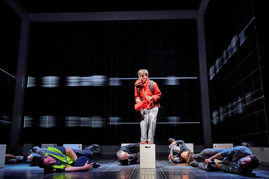 Tale of ancurious incident of a dog told on Shanghai stage