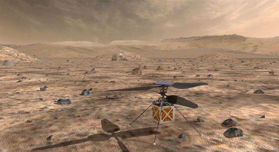 NASA will send small autonomous helicopter to Mars in 2020