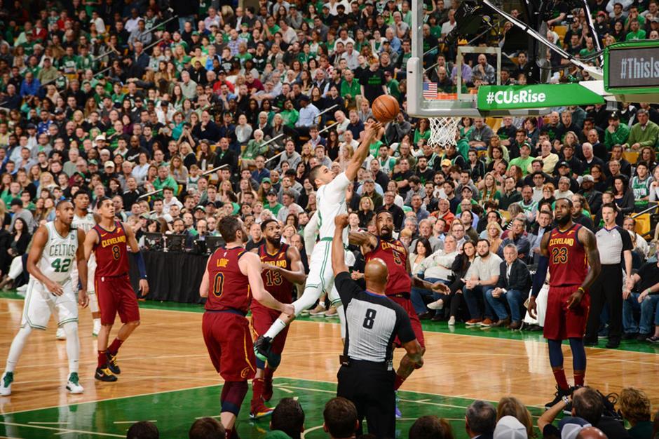 James unfazed after Celtics rout