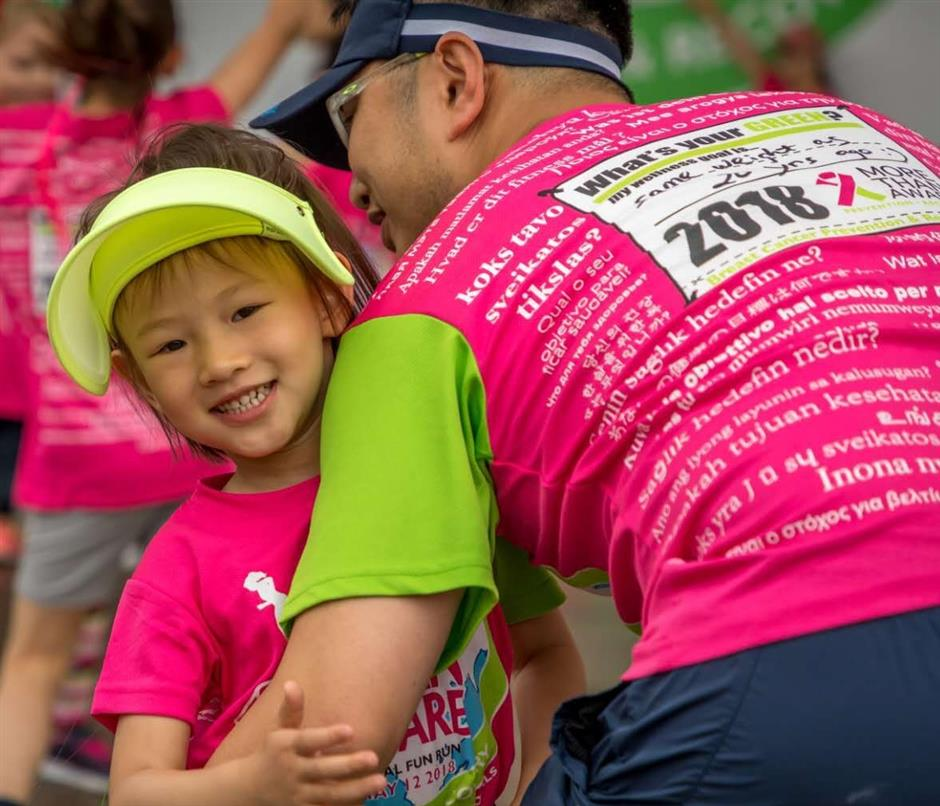 Charity run to promote awareness of breast cancer