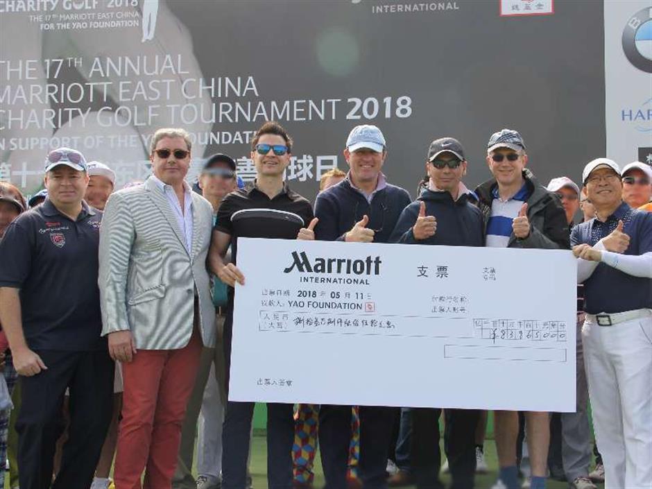 Marriott International golf event raises funds for rural children