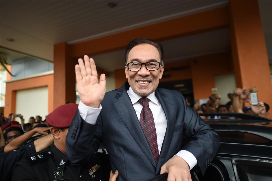 Former Malaysian deputy PM Anwar released