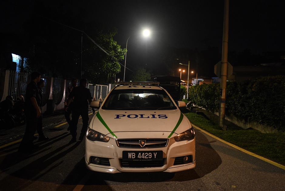 Malaysian police raid former PM Najib's residence