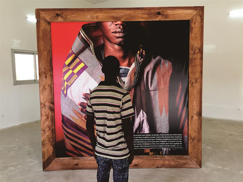 Senegal's street children turn trauma into art