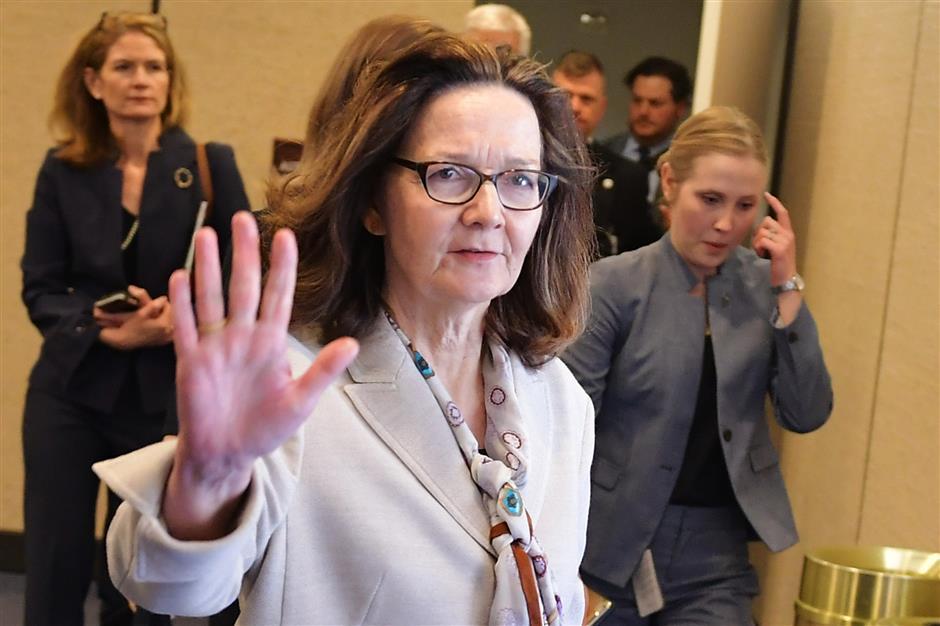US Senate confirms Gina Haspel to lead CIA