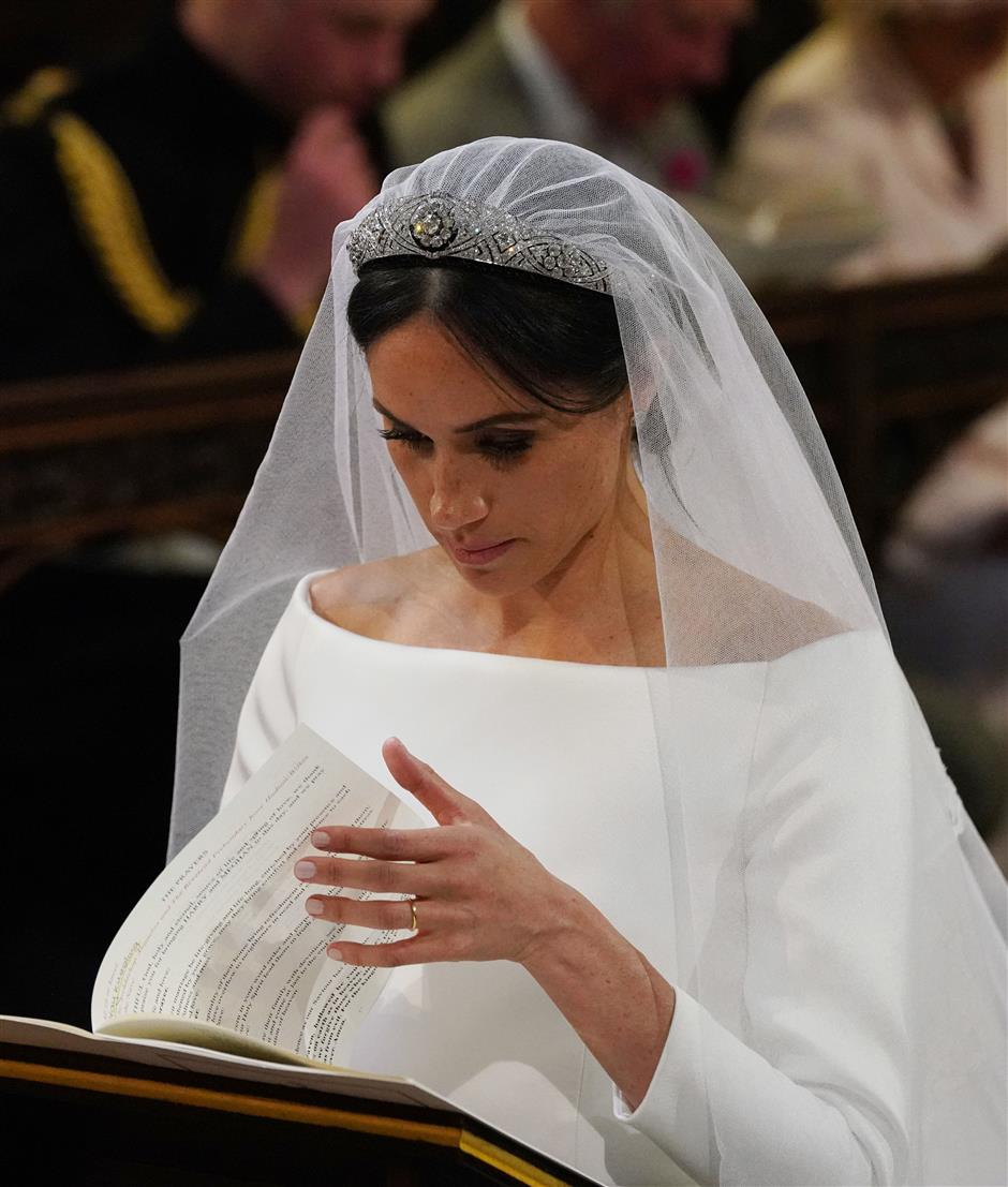 Sculpted simplicity: Givenchy designs Markle's wedding dress