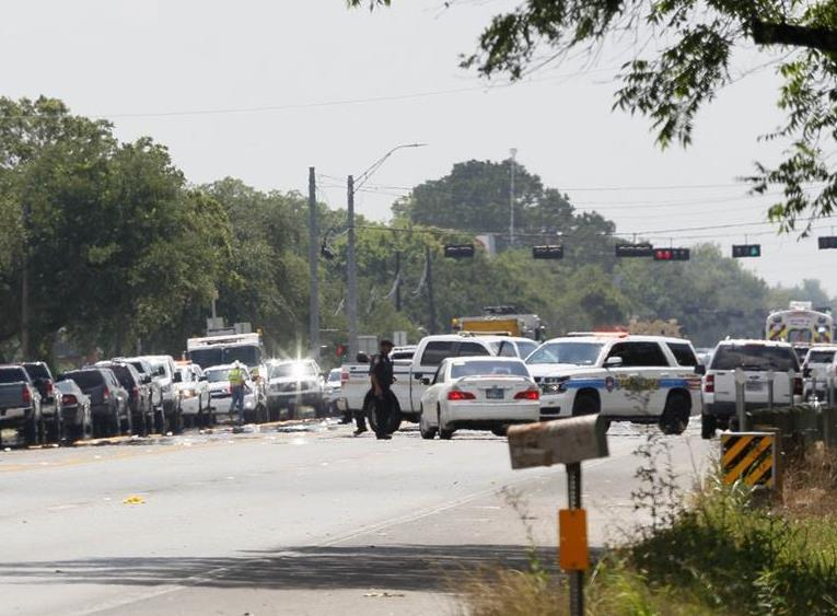 Armed student opens fire in US high school, killing 10 people