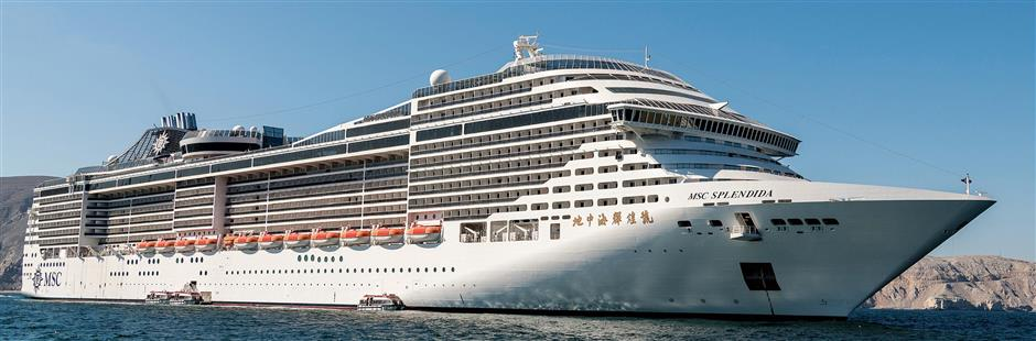 Port offers an MSC Splendida way to cruise