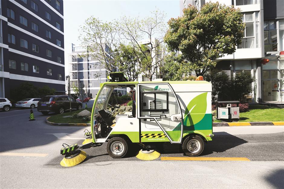 City first as driverless trucks sweep through a science park