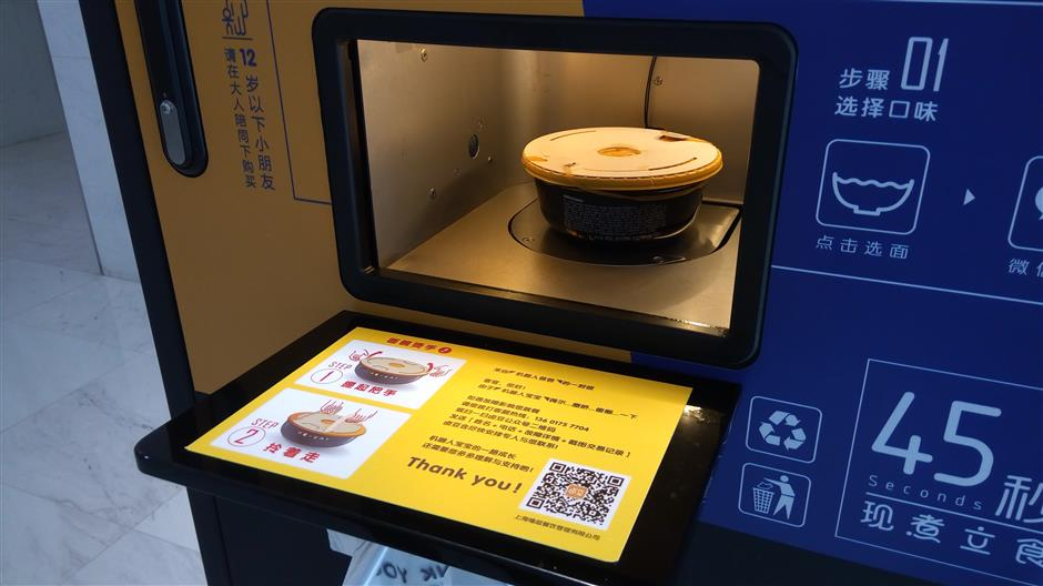 Noodle 'chef' machines get all-clear