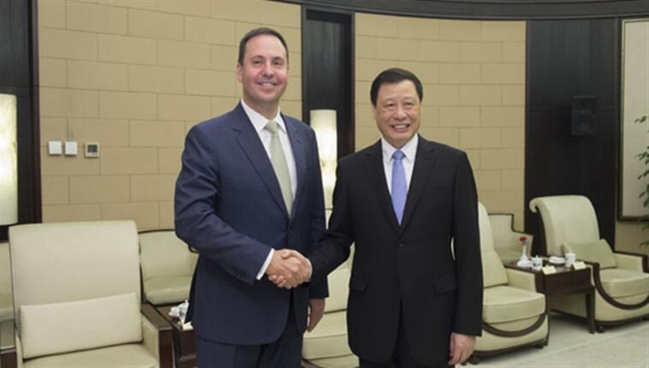 Shanghai mayor invites Australian companies to attend Import Expo in November