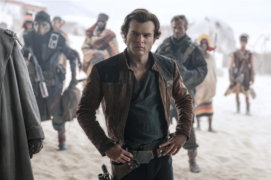 'Solo: A Star Wars Story' to hit cinemas across China