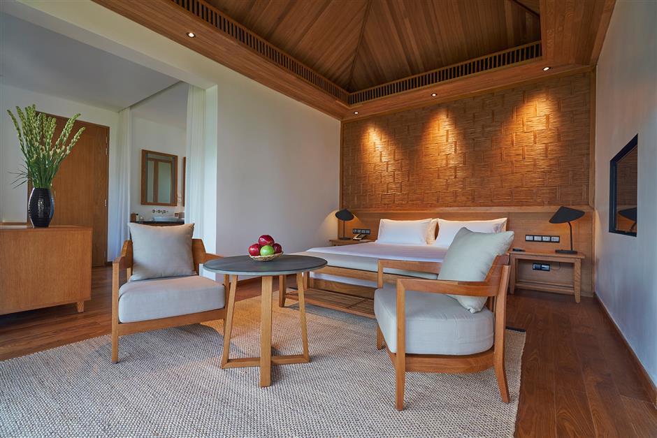 Vietnamese resort offers peaceful sanctuary on a leafy city island