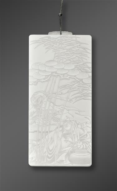 A jade master's work dominates exhibition