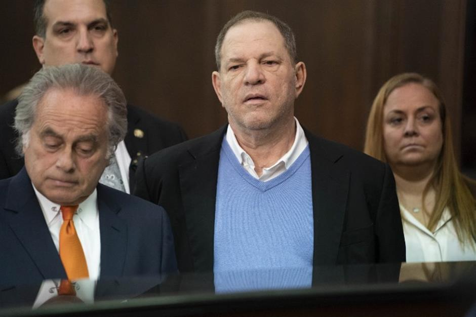 Weinstein charged with rape, sex crime in New York