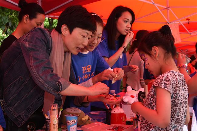 Charity bazaar to help children with congenital heart diseases from poor regions