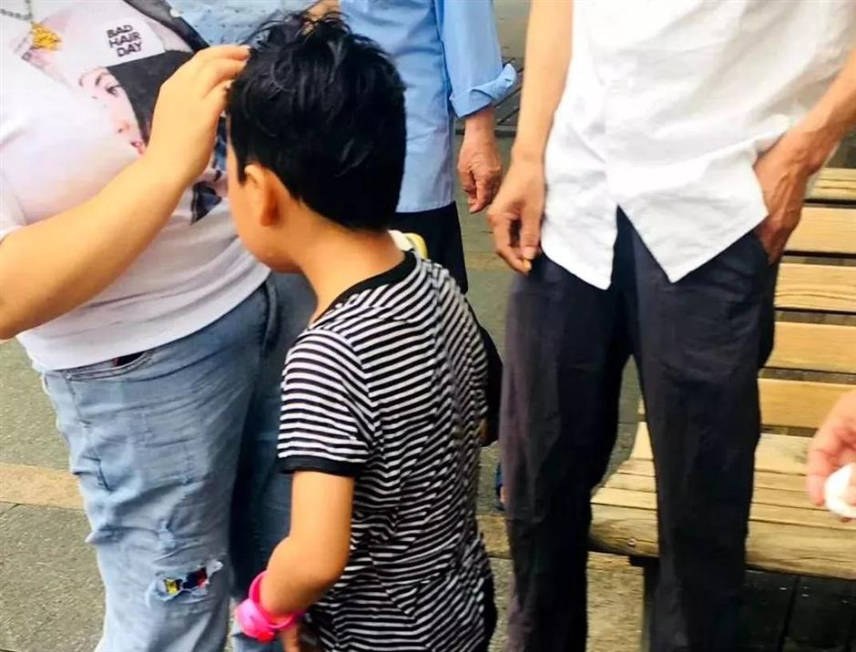 Man rushes to save boy after falling into West Lake