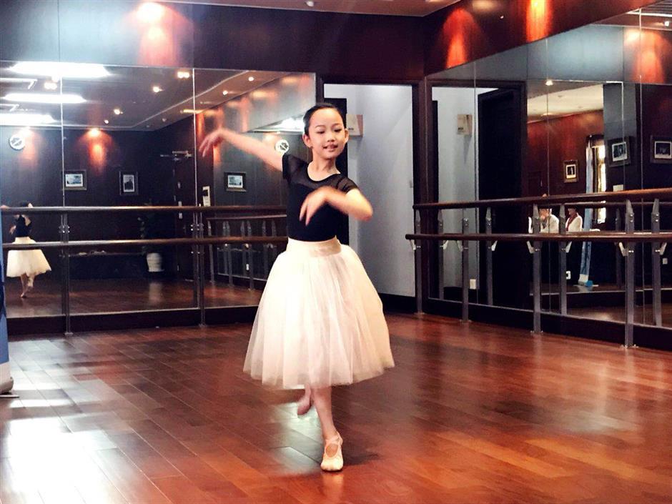 Child ballet ambassadors selected from dozens of hopefuls