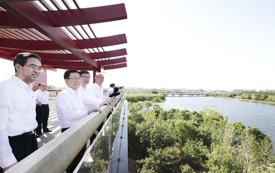 Chinese vice premier calls for high-quality development of Beijing's sub-center