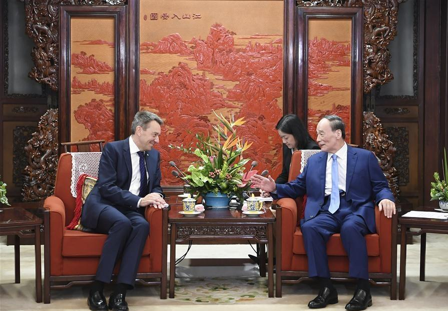 Chinese vice president pledges to support ICRC humanitarian cause