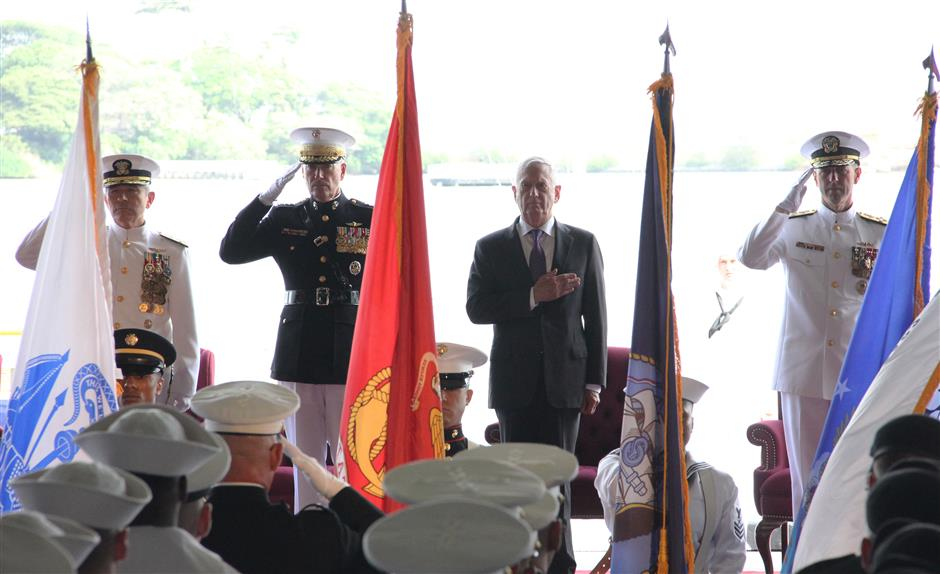 US renames Pacific Command to Indo-Pacific Command
