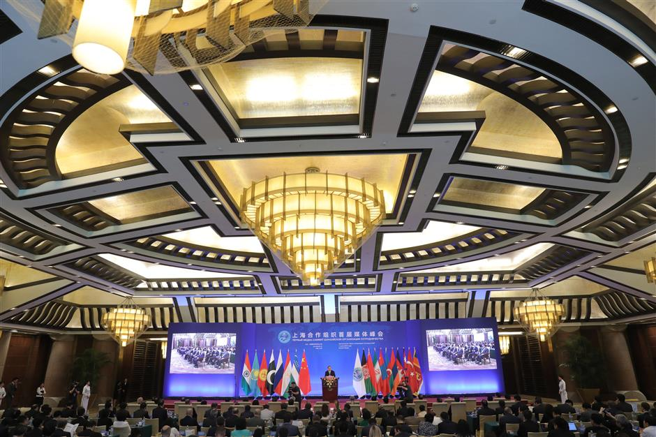 Xi: Media summit to play positive role in building up strength for SCO