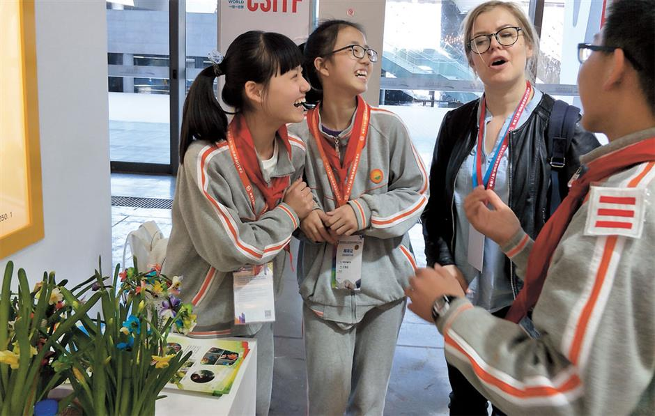 Salute to Shanghai's budding scientists