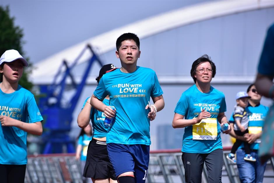 Charity run for employees raises fund for multiple charities