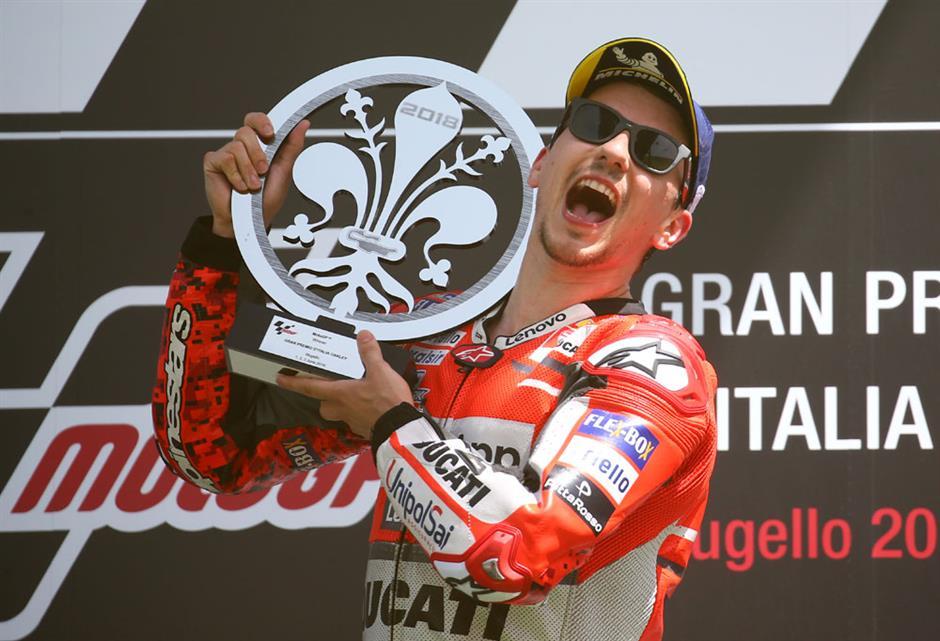 Lorenzo wins Italian GP as Marquez finishes 16th