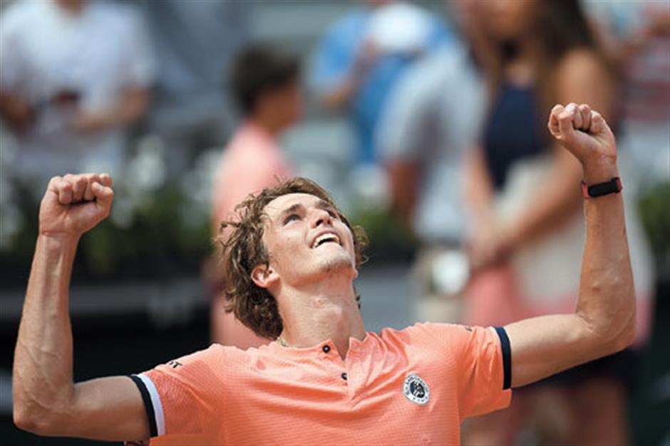 Comeback king Zverev reaches first Slam last 8
