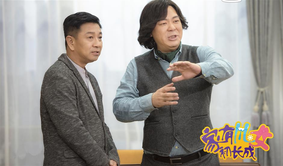 Famous TV startalks about the creation of sitcom