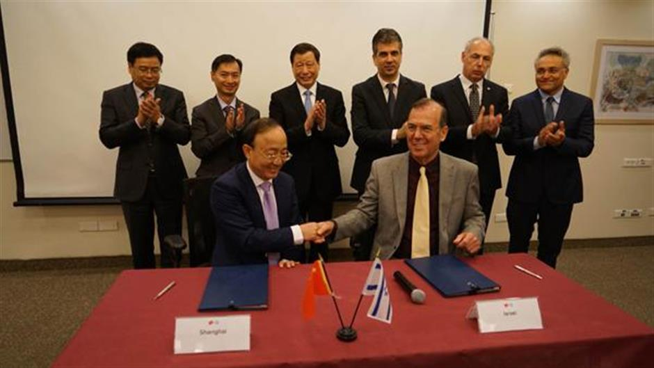 Shanghai mayor visits Israel to deepen cooperation in innovation and key industries