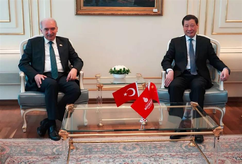 Shanghai mayor visits Istanbul and calls for closer cooperation in more fields