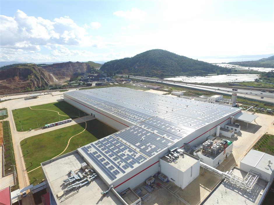 Coca-Cola opensnew environmentally friendly plant in Yunnan