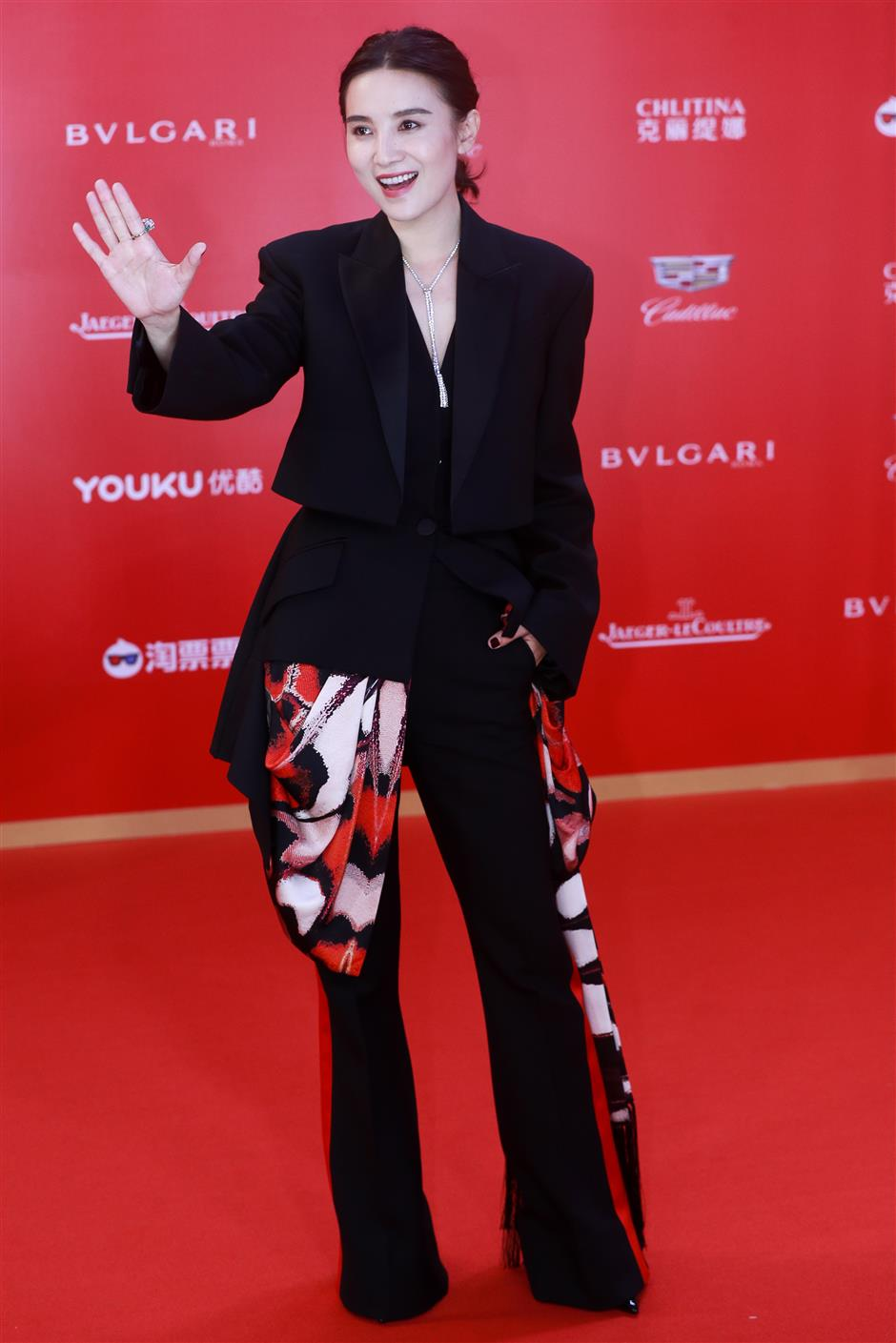 Shanghai film fest opens with star-studded red carpet