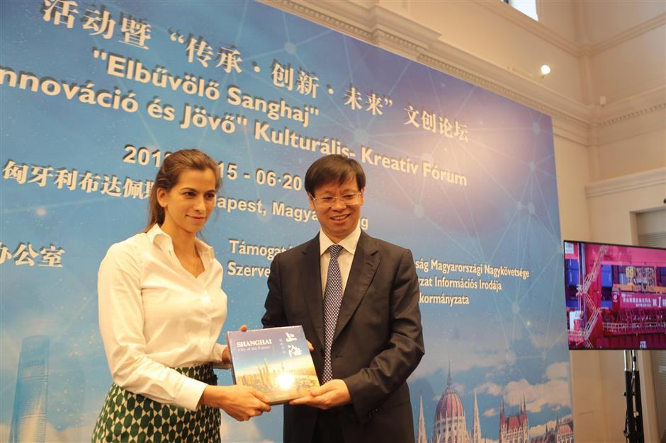 Shanghai culture promoted in Budapest